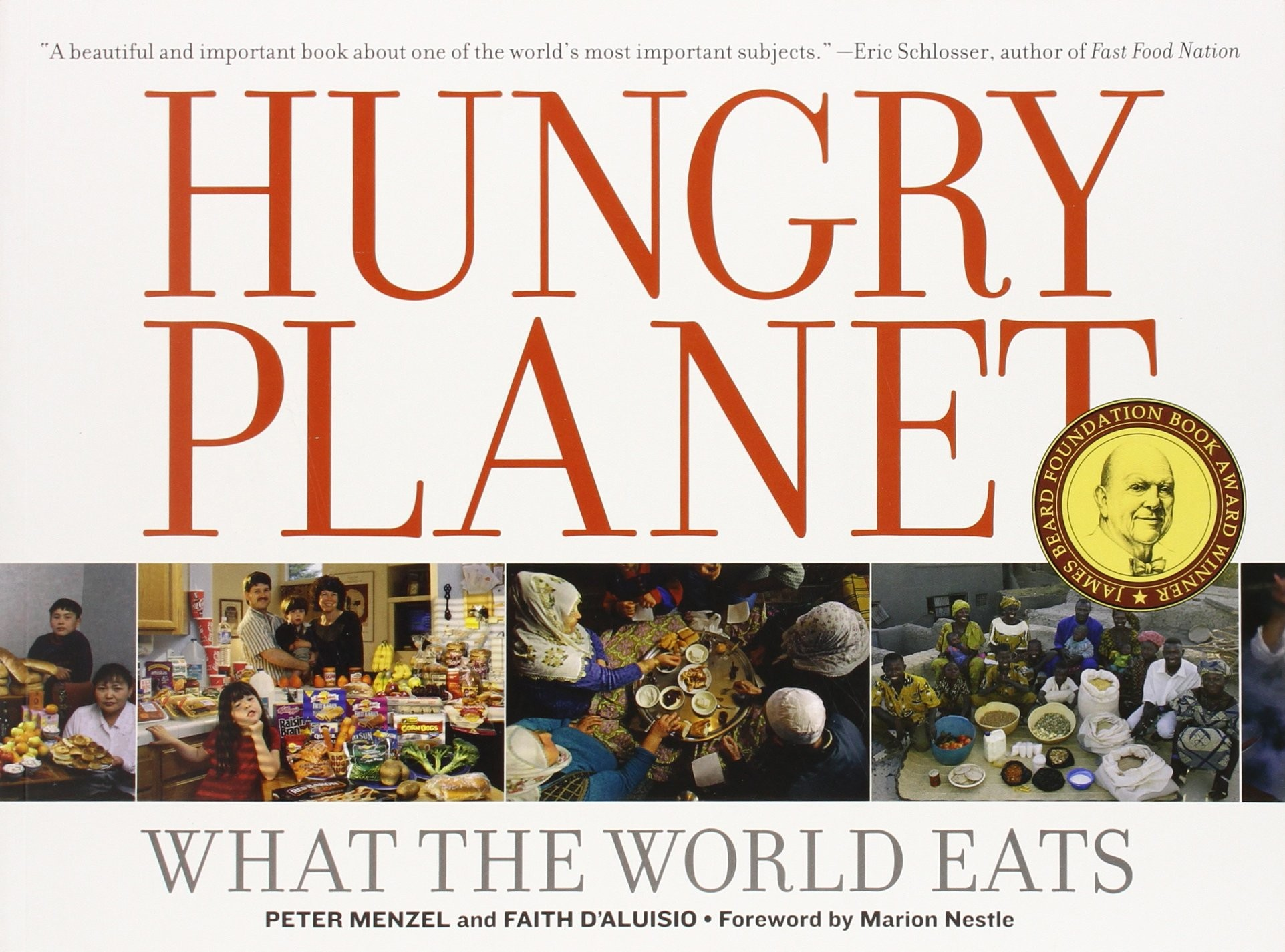 Portada del libro Hungry Planet - What the World Eats