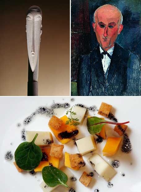 Arte en la cocina del Museo Thyssen-Bornemisza
