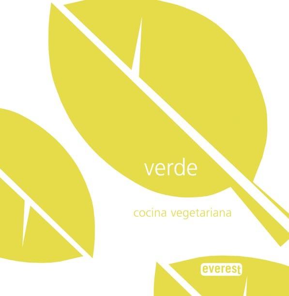 Portada del libro verde, Cocina Vegetariana