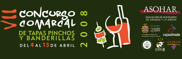 VII Concurso Comarcal de Tapas, Pinchos y Banderillas de Aranda de Duero