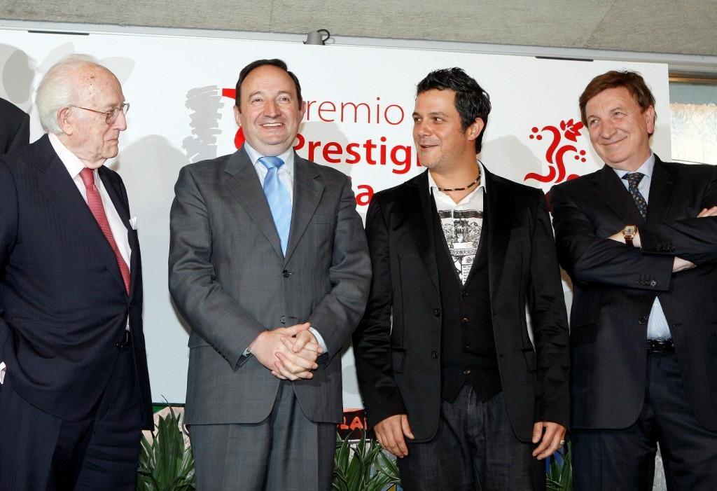 Alejandro Sanz, Premio Prestigio Rioja 2008