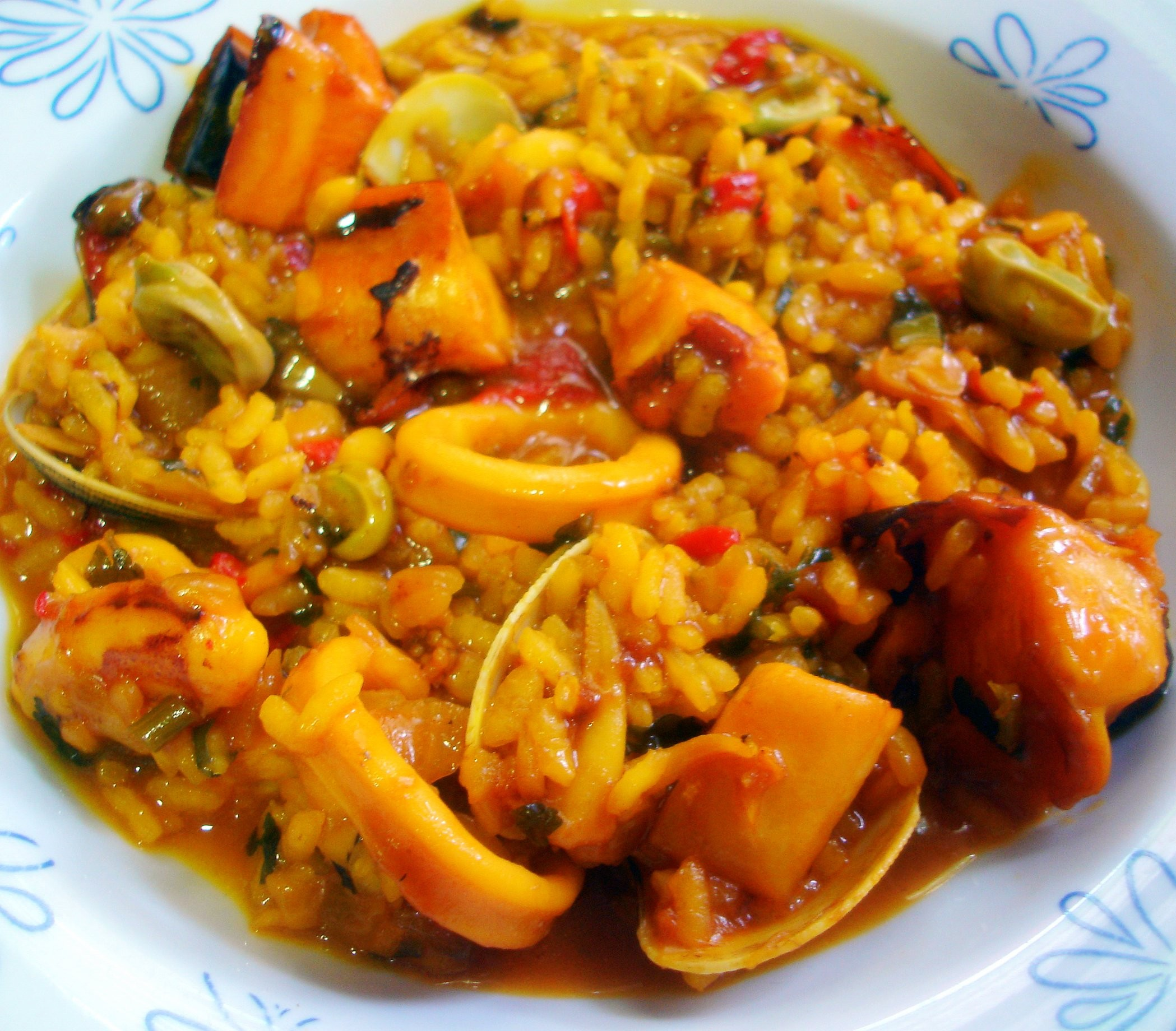 Como Cocinar Calamares   Con Sepia Calamares Y Rejo