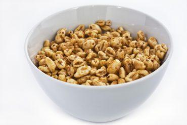 Bol de cereales de desayuno