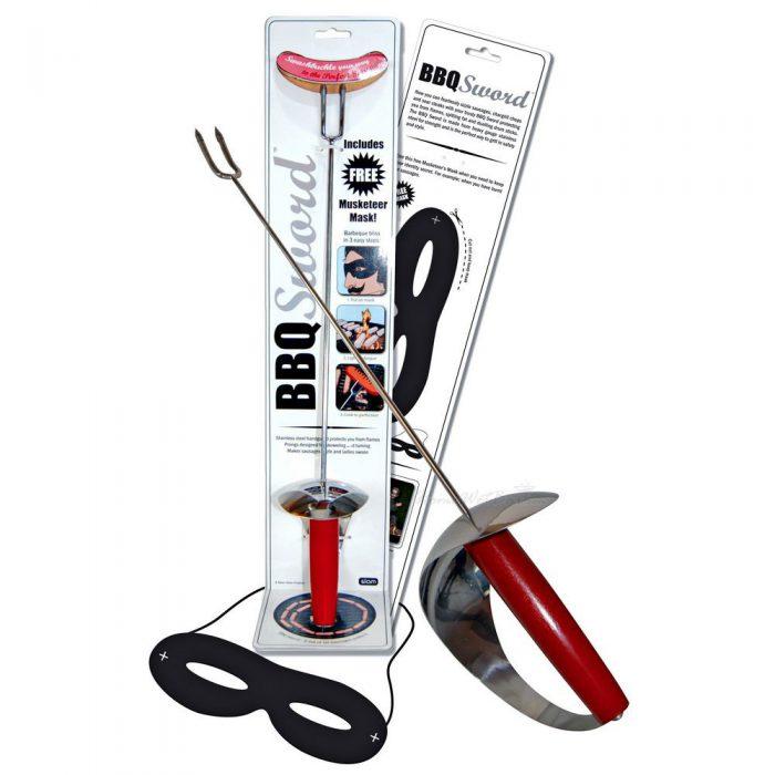 El zorro de las barbacoas, BBQ Sword (3)