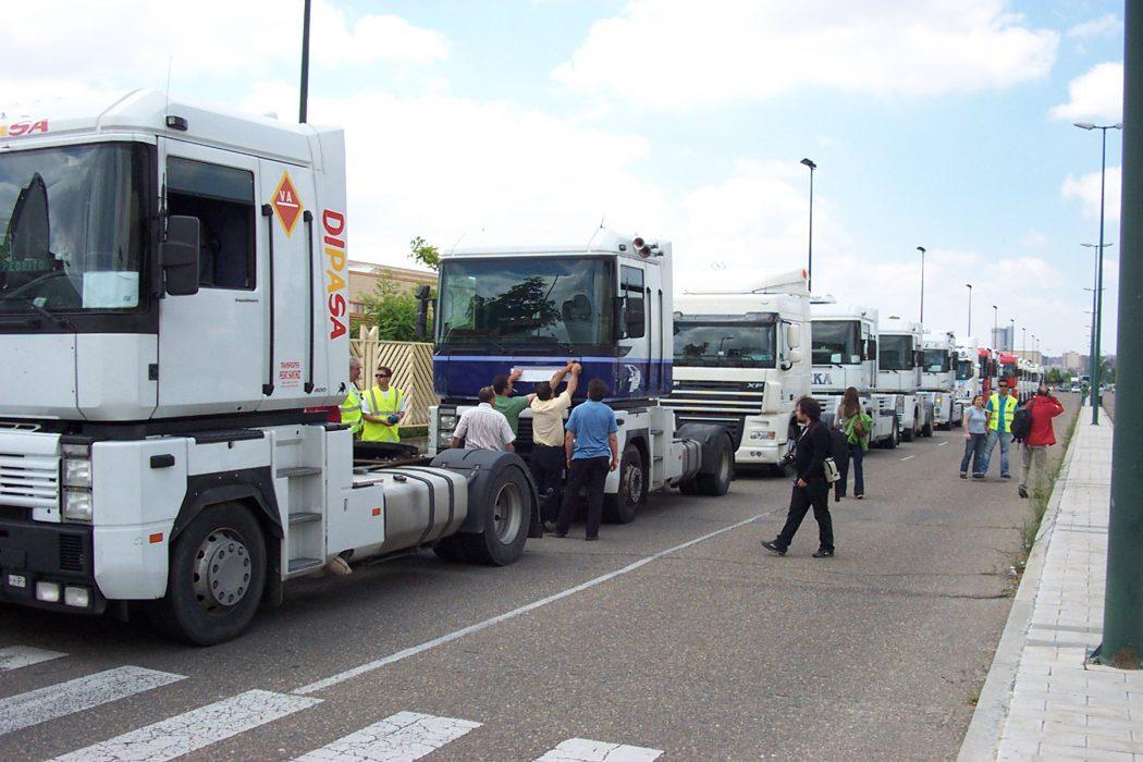 Huelga de camioneros