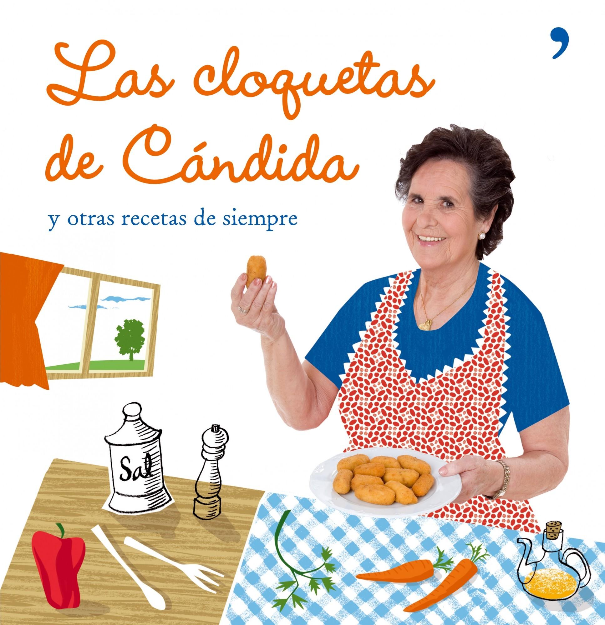 """Portada del libro """"las cloquetas de Candida"""""""