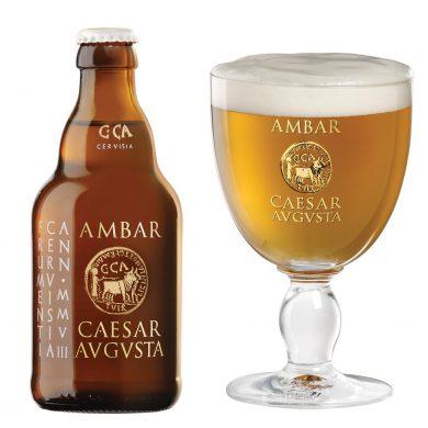 Ámbar Caesaraugusta, cerveza de trigo