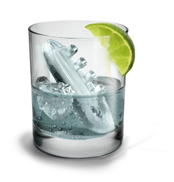 Pack para hacer cubitos de hielo Gin & Titonic (1)