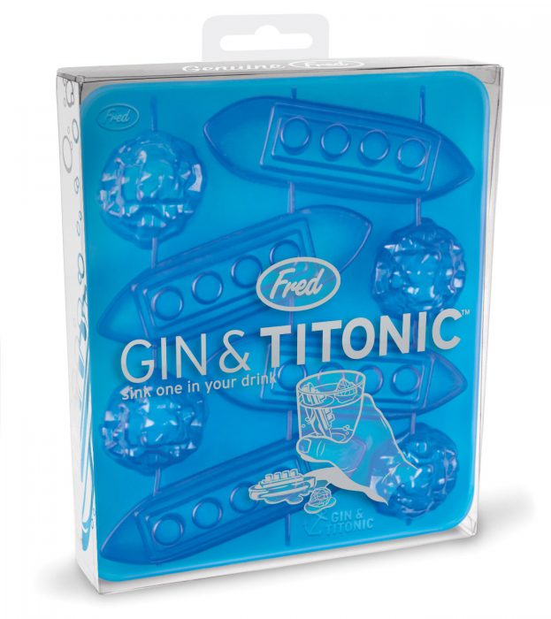 Pack para hacer cubitos de hielo Gin & Titonic (3)