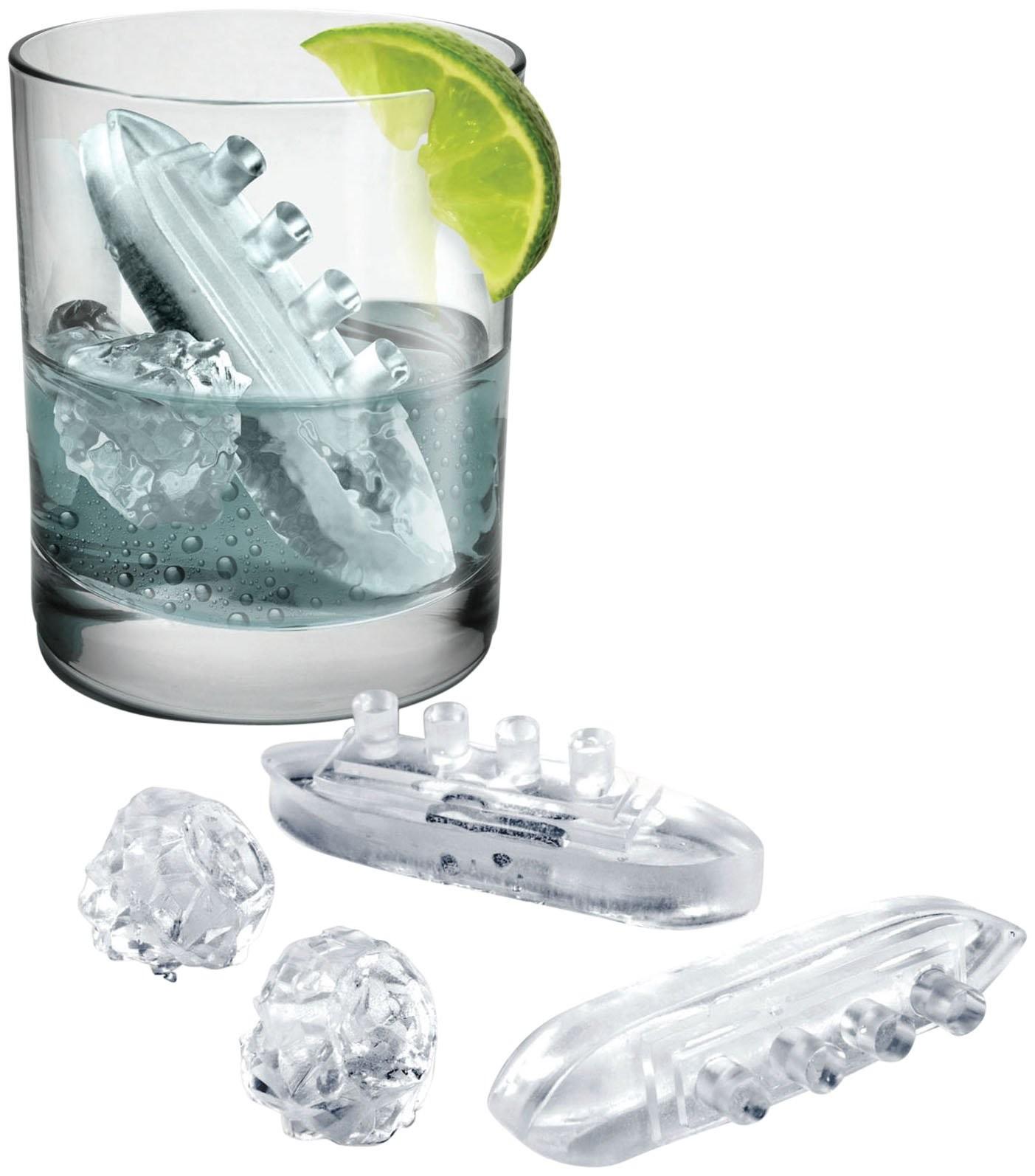 Pack para hacer cubitos de hielo Gin & Titonic (5)