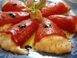 Pimientos rellenos de salmón