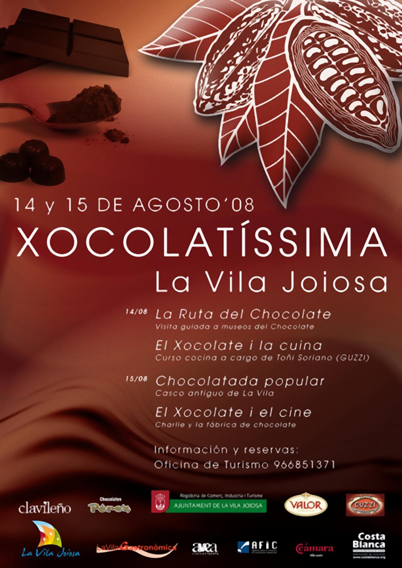 Feria del chocolate: Xocolatíssima 2008