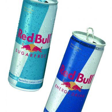 Latas de Red Bull