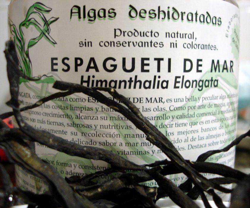 Espagueti de mar (Himanthalia Elongata)