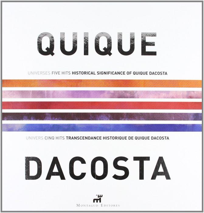 """""""QD 2000-2006"""", nuevo libro de Quique Dacosta"""