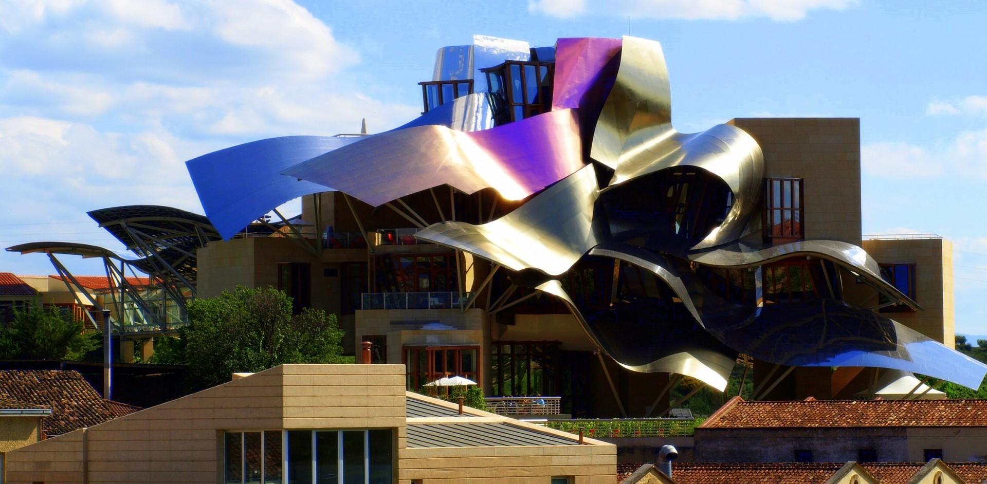 Los 8 hoteles m s raros del mundo p gina 2 foro de viajes - Arquitecto bodegas marques de riscal ...