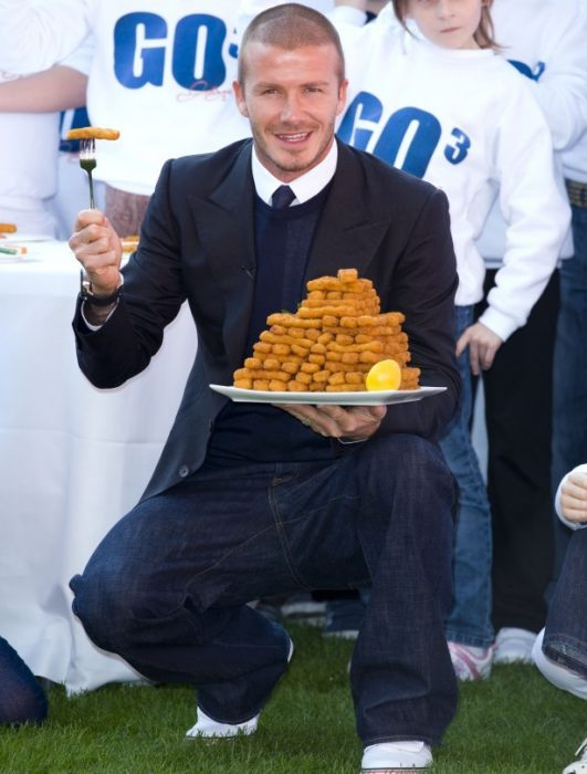 David Beckham Findus 1