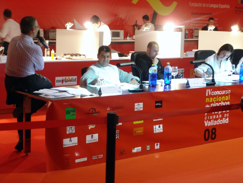 Jurado del Concurso Nacional de Pinchos y Tapas Ciudad de Valladolid