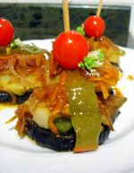 Pincho vegetal, una tapa vegetariana