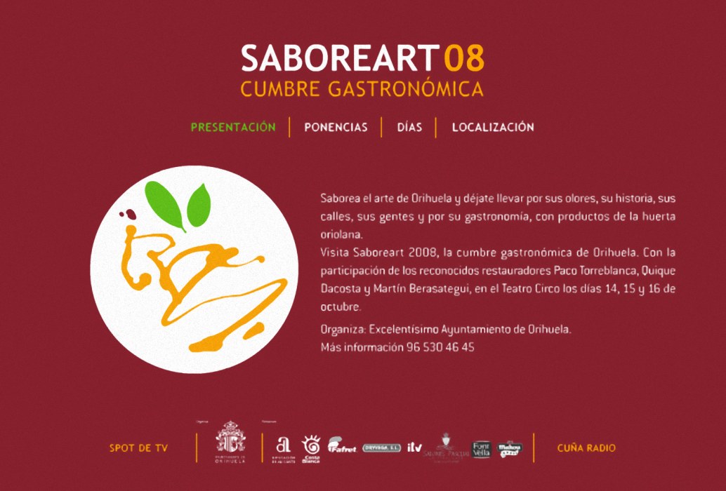 Saboreart 2008