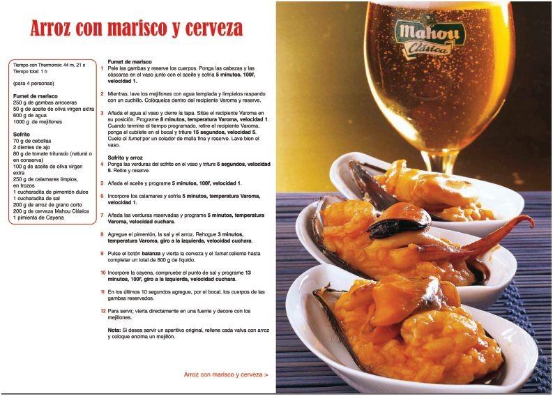 Cocina con cerveza con Mahou y Thermomix 1