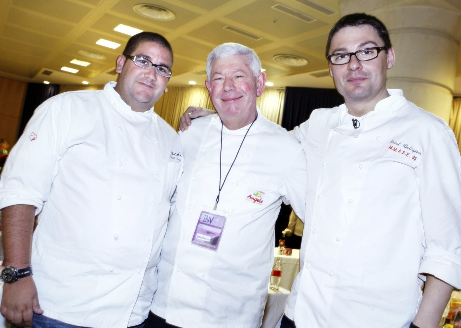 Dani Garcia, Angelo Corvitto y Oriol Balaguer