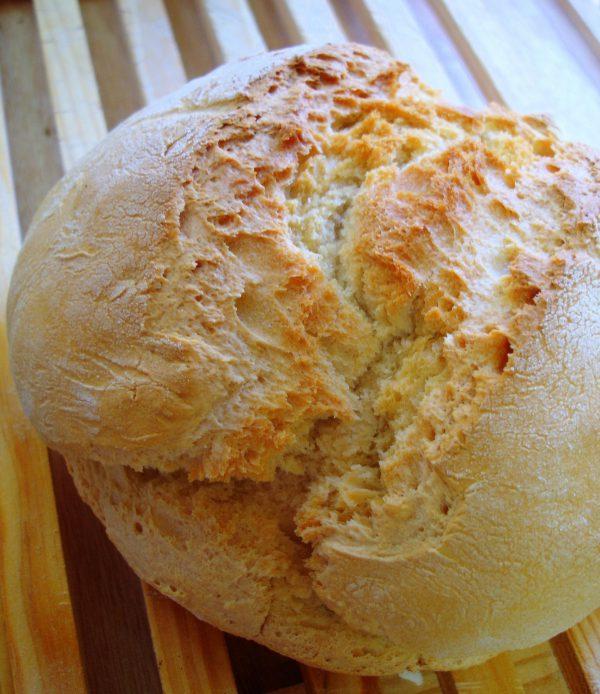 Receta fácil de pan