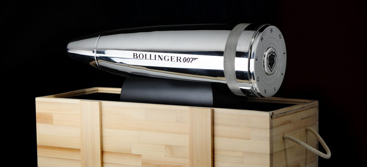 Champán The Bollinger & 007 Collector Bullet (1)