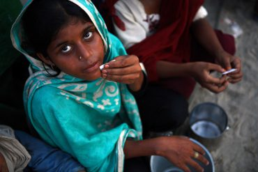Hambre niños Pakistan