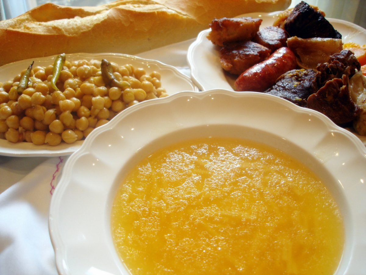 Receta de cocido castellano tradicional - Salsa para bogavante cocido ...