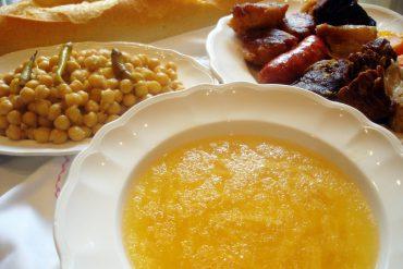 Receta de cocido castellano