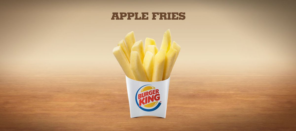 Burger King Fresh Apple Fries Sticks