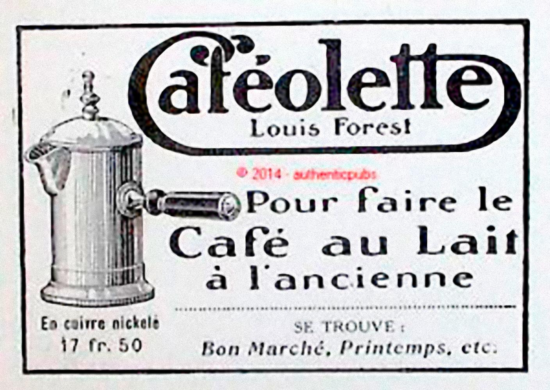 La historia de la cafetera - Cafeollete