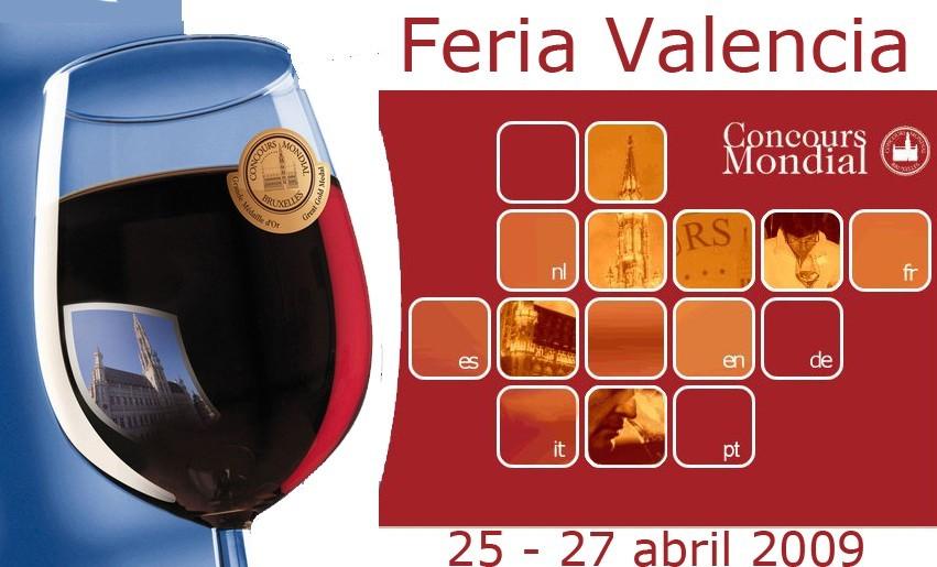 Concurso Mundial del Vino de Bruselas 2009