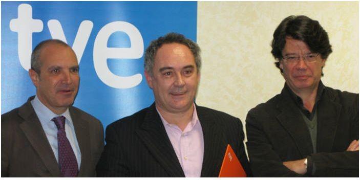 Ferran Adrià embajador del Canal Cultura de TVE