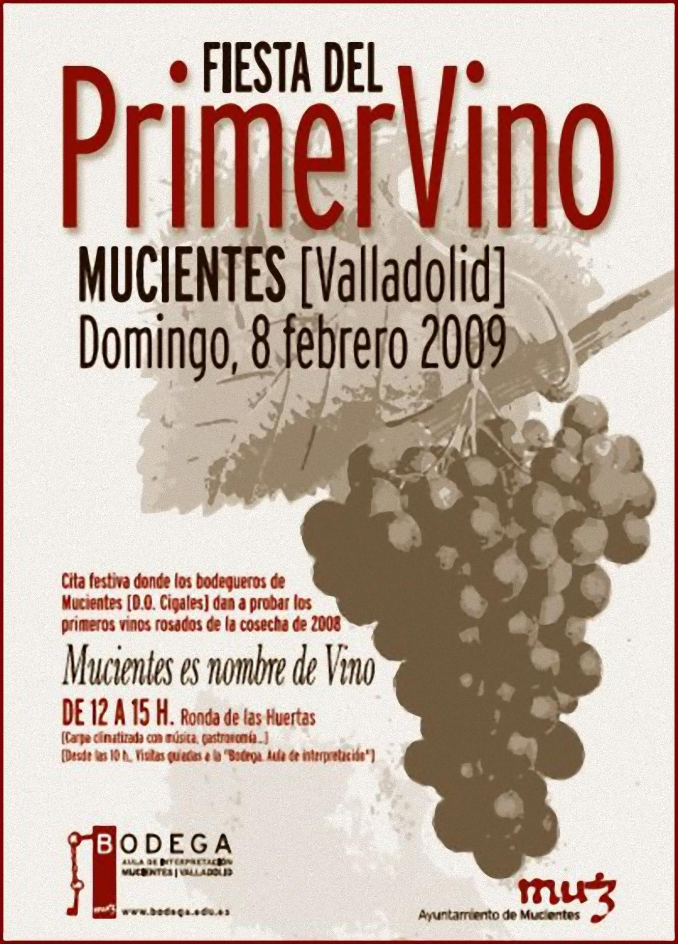 Fiesta del primer vino cosecha 2008 Mucientes
