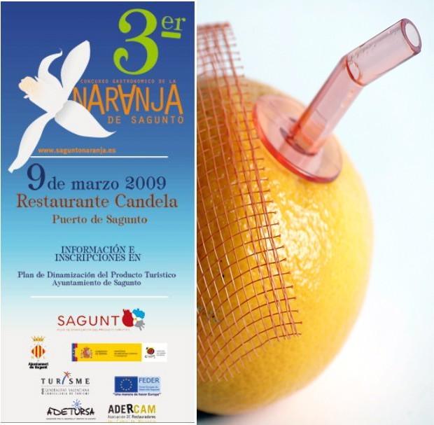 III Concurso Gastronómico de la Naranja de Sagunto