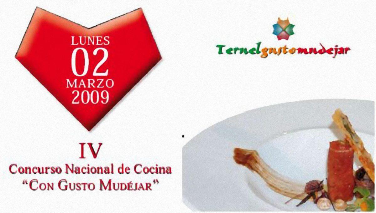 """IV Concurso Nacional de Cocina """"Con Gusto Mudéjar"""""""