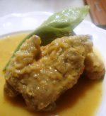 Manitas de Cerdo en Salsa, receta tradicional