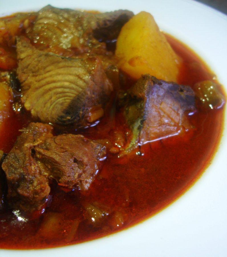 Receta de Marmitako de pescado