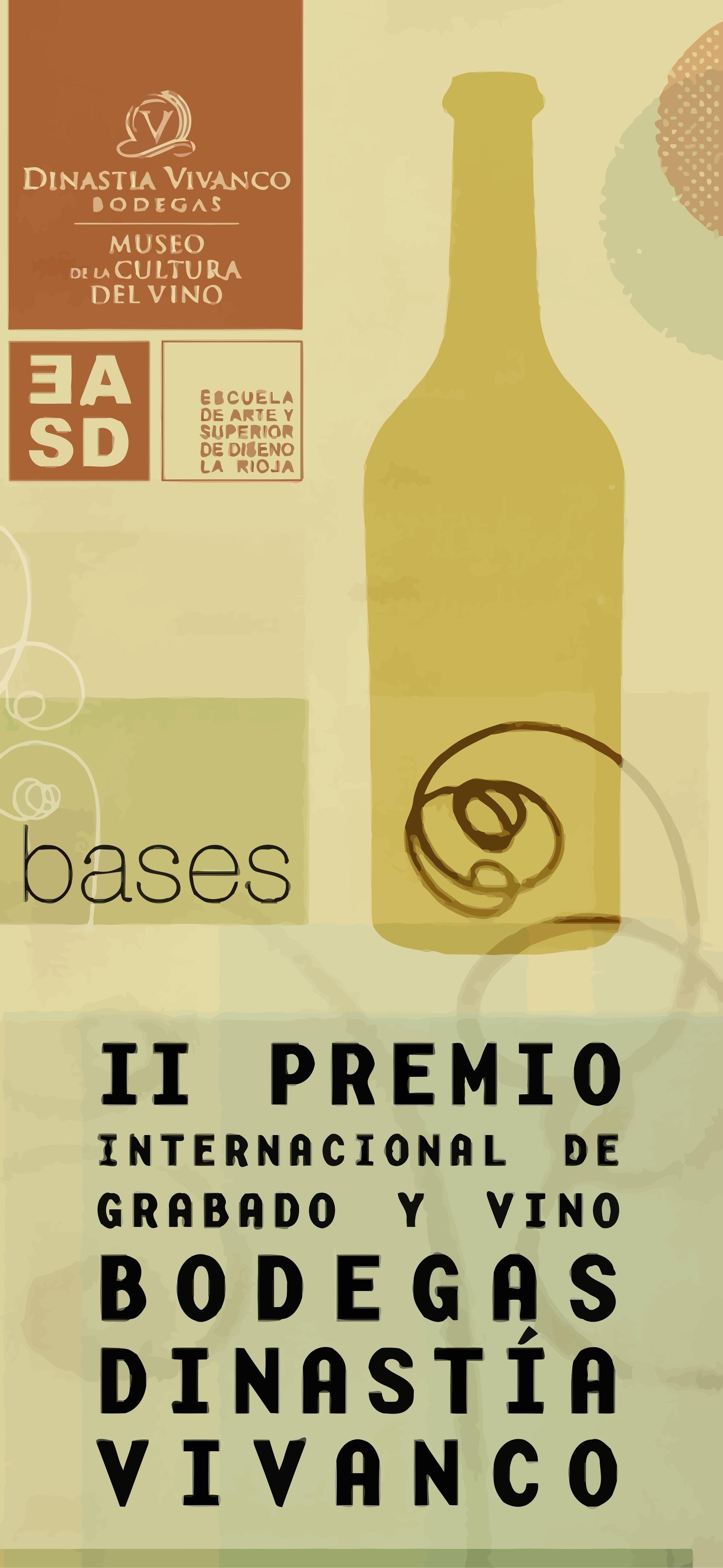 Premio de Grabado y Vino Bodegas Dinastía Vivanco