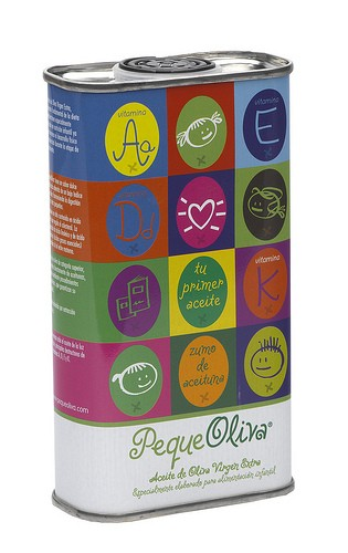 Aceite de oliva para niños pequeoliva