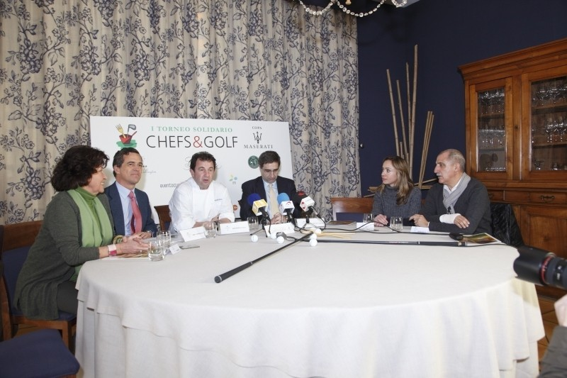 Torneo solidario Chefs & Golf