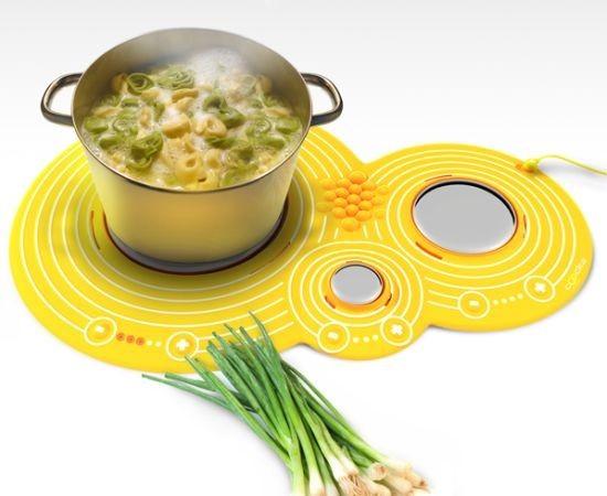 Cooka, cocinando sobre plata (1)