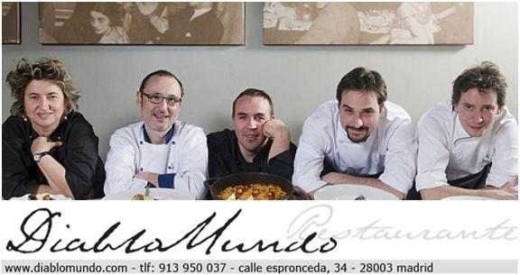 """El restaurante Diablo Mundo con """"La nueva cocina rural de Valladolid"""""""