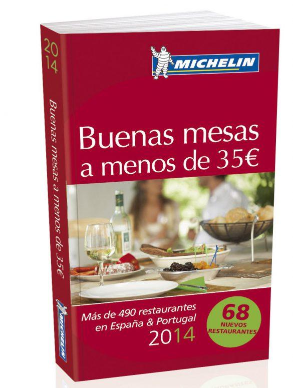 """Guía Michelín España y Portugal de las """"Buenas Mesas"""""""