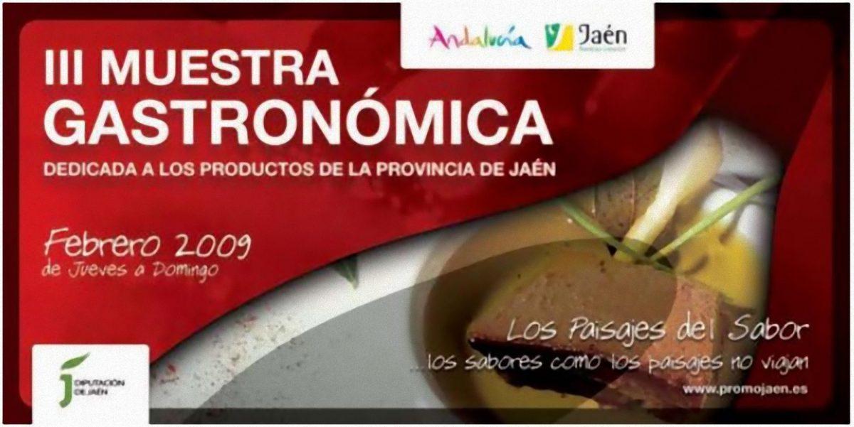 III Muestra Gastronómica Los paisajes del sabor
