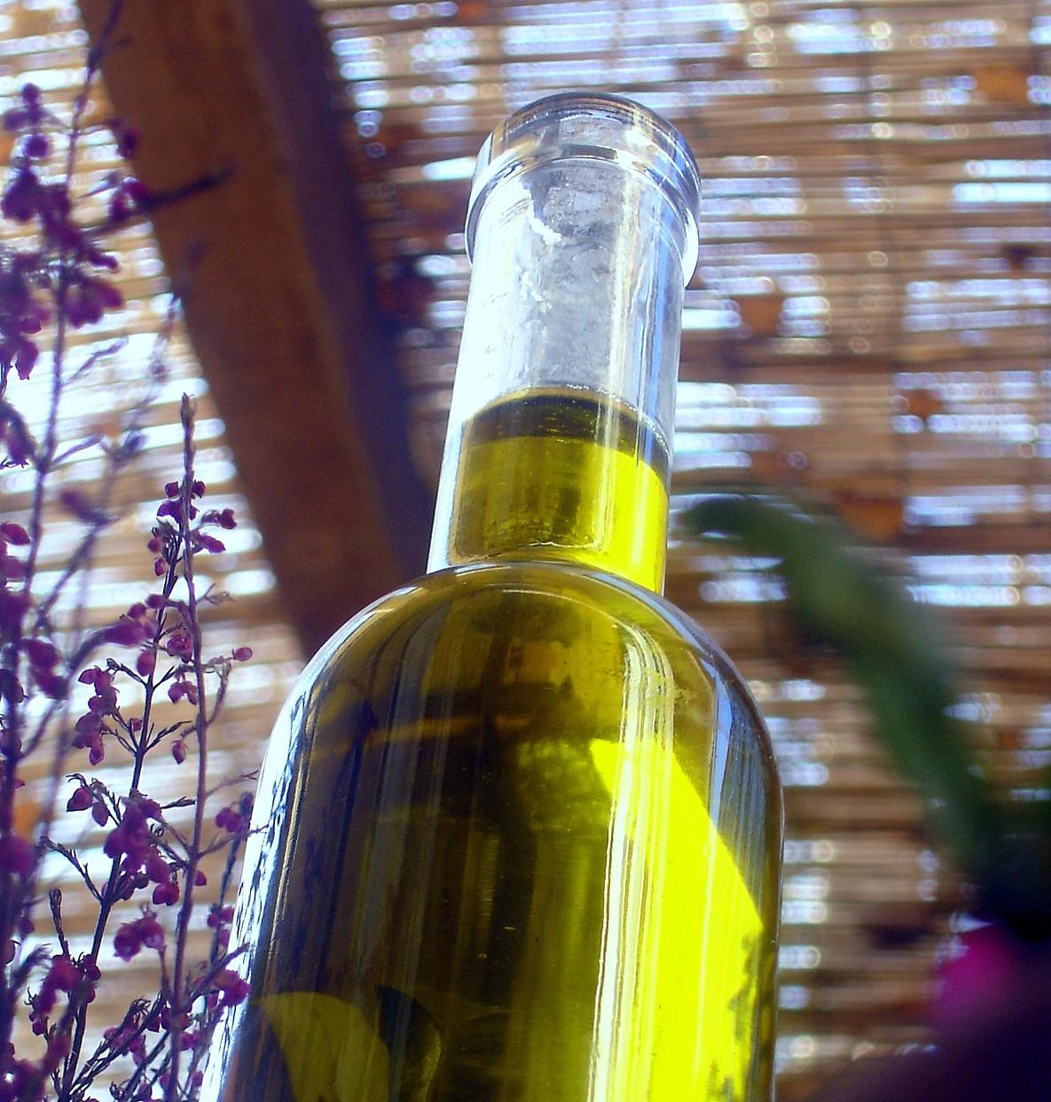 Aceite de oliva aromatizado