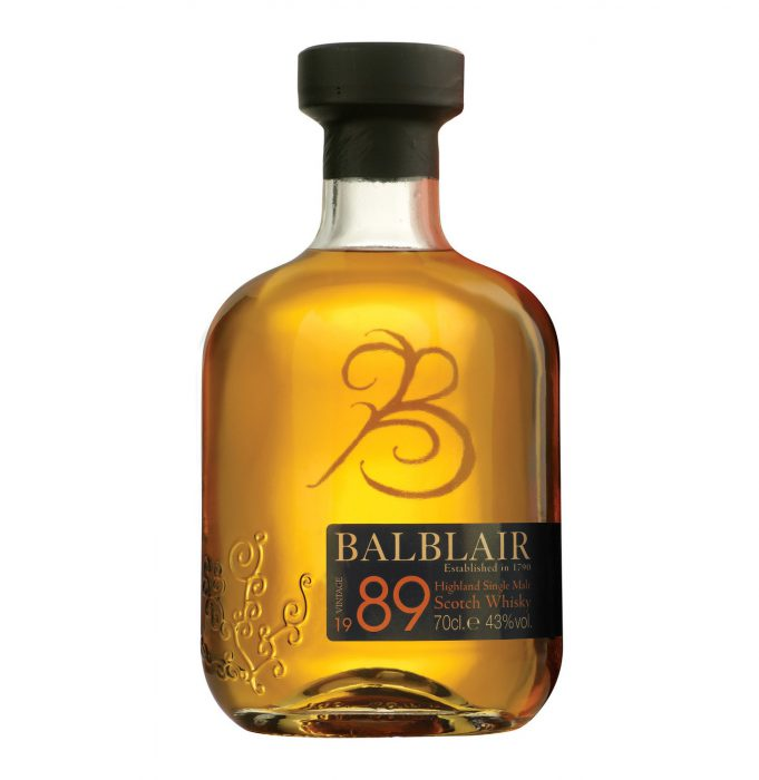 Botella Balblair Single Malt Whisky
