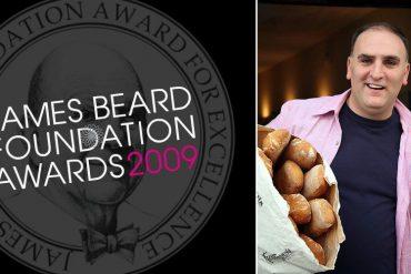 El cocinero José Andrés en los premios James Beard